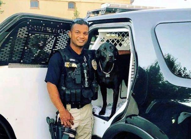 PHOTO: This undated file photo provided by the Newman Police Department shows officer Ronil Singh who was killed on duty conducting a traffic stop, Dec. 26, 2018, in the town of Newman, Calif. (Stanislaus County Sheriff's Department via AP)