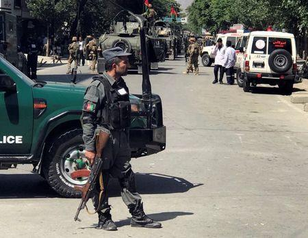 Series of blasts hits Kabul, casualties feared