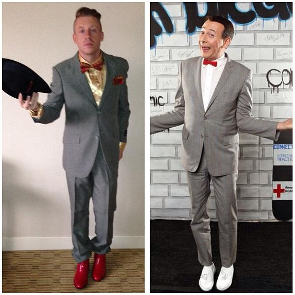 22c4f7c62f7f Only an artist like Macklemore can wear a get-up like that and look  spot-on. Although Lewis made an excellent point on his Instagram