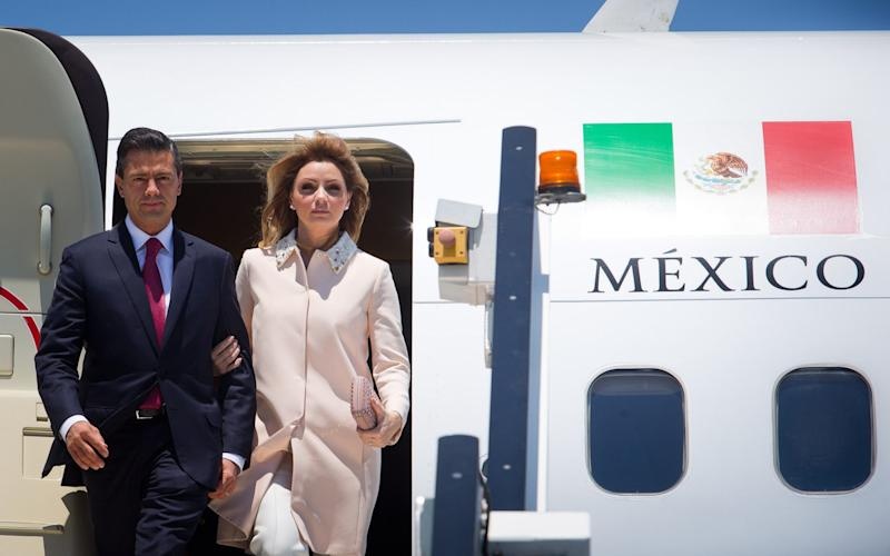 Enqruique Peña Nieto accused of funnelling $4m (£2.5m) in bribes into the 2012 presidential election campaign - Getty