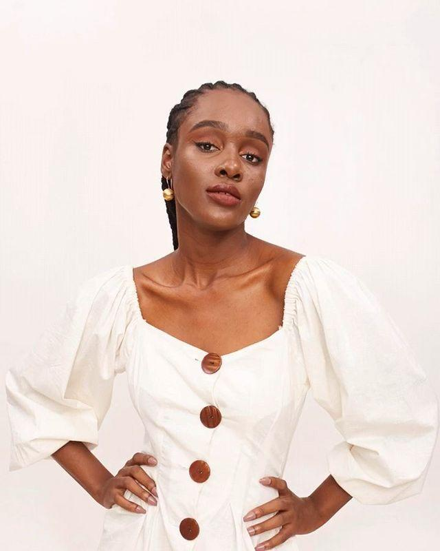 """<p>Who: Damilola 'Damie' Idowu</p><p>What: 'Míe is a nature-friendly fashion and lifestyle brand that provides elegant clothes and homeware that make you feel good and breathe easy. Míe is finally launching Treasure by Mie (products by us that are not clothes, in collaboration with local artisans from different places).'</p><p><a class=""""link rapid-noclick-resp"""" href=""""https://mie.ng/#!"""" rel=""""nofollow noopener"""" target=""""_blank"""" data-ylk=""""slk:SHOP THE MIE NOW"""">SHOP THE MIE NOW</a></p><p><a href=""""https://www.instagram.com/p/B5cVmxHFHKZ/"""" rel=""""nofollow noopener"""" target=""""_blank"""" data-ylk=""""slk:See the original post on Instagram"""" class=""""link rapid-noclick-resp"""">See the original post on Instagram</a></p>"""
