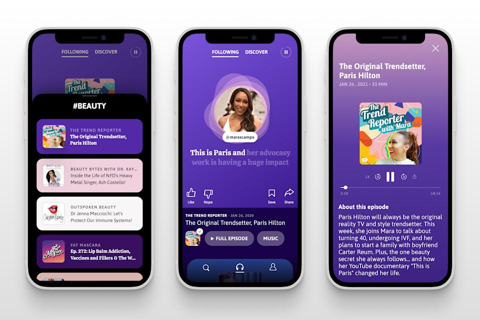 Podz is a new app launching today that helps listeners find new podcasts based on their interests.