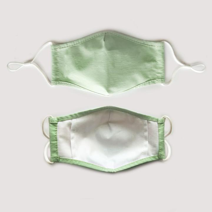 Mint face mask by By Indeko.