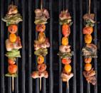 """<p>Don't limit your favorite sandwich to bread. These skewers are layered with all the fixings: bacon, romaine, and cherry tomatoes.</p><p>Get the <a href=""""https://www.delish.com/cooking/recipe-ideas/recipes/a43676/blt-skewers/"""" rel=""""nofollow noopener"""" target=""""_blank"""" data-ylk=""""slk:Delish"""" class=""""link rapid-noclick-resp"""">Delish</a>.</p>"""