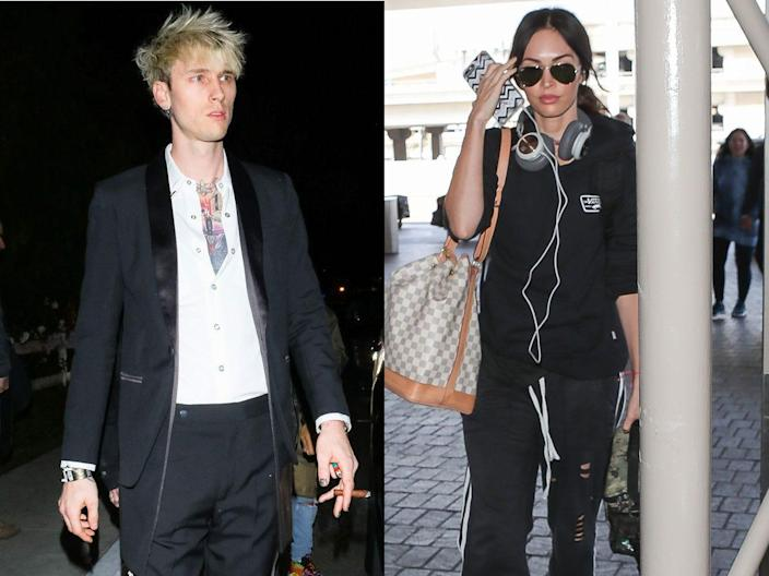 """Machine Gun Kelly and Megan Fox are costars in """"Midnight in the Switchgrass."""""""
