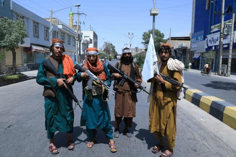 The Taliban say music is forbidden in Islam (AFP/AREF KARIMI)