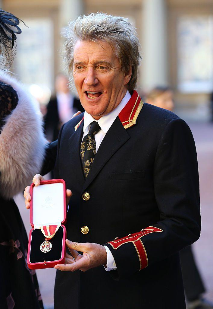 <p>Stewart received a knighthood in recognition of his services to music and charity in 2016.</p>