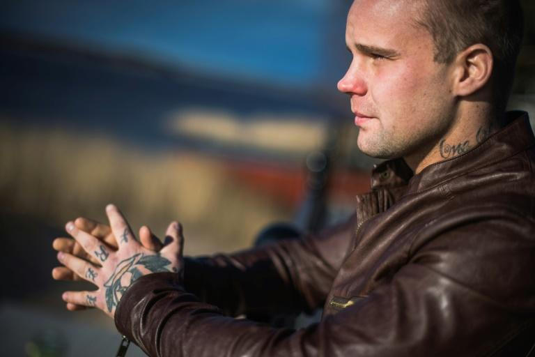 Former Swedish neo-Nazi Kimmie Ahlen has since removed some of his tattoos