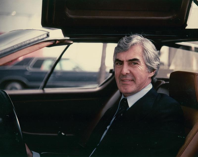 John DeLorean in 1977 (Credit: Jerry Williamson)