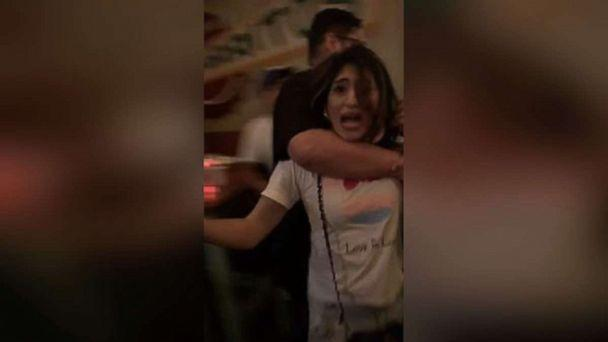 PHOTO: Two transgender women were forcibly ejected from a bar in Los Angeles on Friday, Aug. 23, 2019, after they say they were harassed by a man and woman and called slurs. (Bienestar Human Services/Facebook)