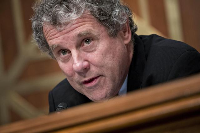 One of the most liberal senators, Sherrod Brown, is backing the plane provision.