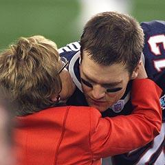 Tom Brady, getting some encouraging words before Super Bowl XLII from Myra Kraft, said every game this season will carry an extra layer of emotion for the Patriots