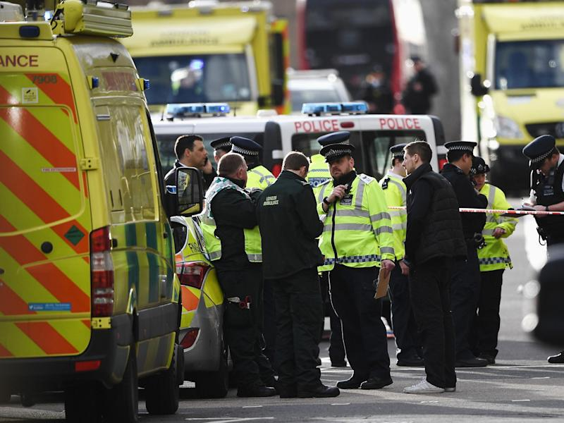 Emergency service reached the scene in six minutes and quickly cordoned off the area: Getty