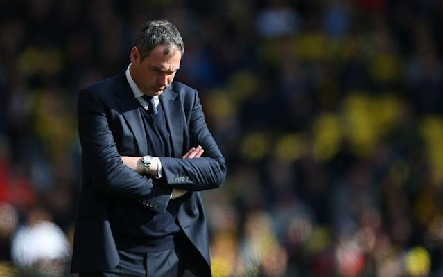 <span>Despite a strong start to his tenure, Paul Clement's Swansea remain in the bottom three</span> <span>Credit: Rex Features </span>