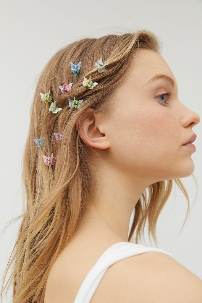 <p>'90s babies might have a sweet spot for butterfly clips, but while these are a beloved nostalgic item, it's safe to say they're not going to be making a comeback anytime soon. Hair clips might be cool, but glittery, plastic butterflies? Not so much. </p>