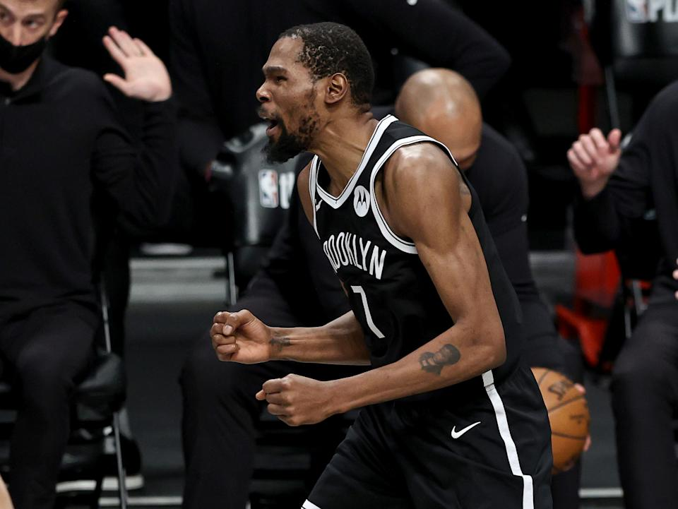 Is Kevin Durant the obvious choice after the top-five? (Photo by Elsa/Getty Images)