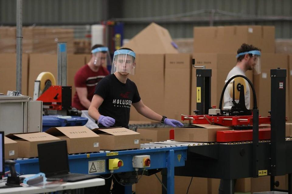 Manufacturing growth is now forecast to be 7.1% this year (Peter Morrison/PA) (PA Archive)