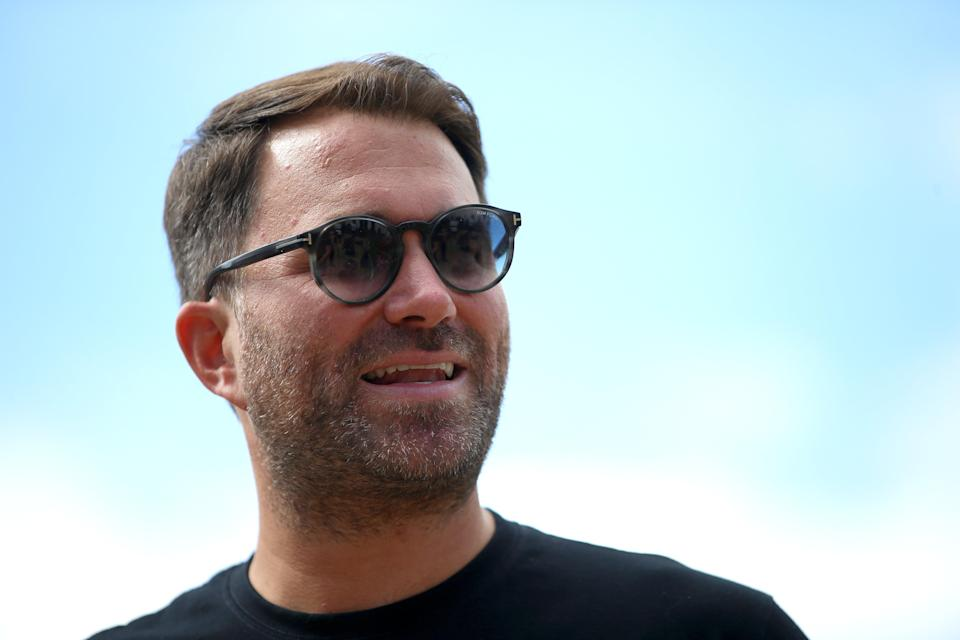 Eddie Hearn has spoken out against the split of bailout money (Getty)