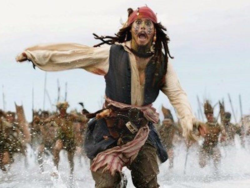 """Jack Sparrow has a debt to pay to Davy Jones in """"Dead Man's Chest."""""""