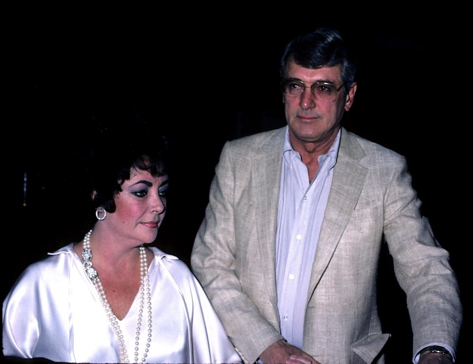 Elizabeth Taylor supported Rock Hudson throughout his failing health (Photo by Tom Wargacki/WireImage)