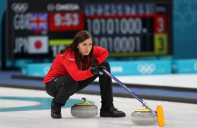Eve Muirhead is Great Britain's latest Olympic curling hope (David Davies/PA)