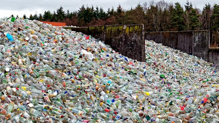 Some major food and drinks producers are trying to cut down on plastic pollution