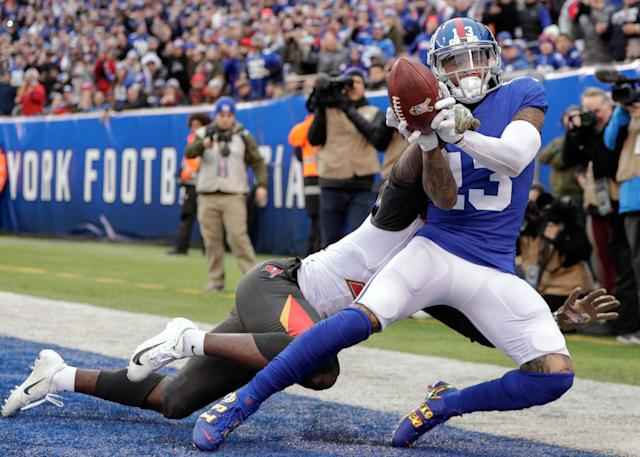 Odell Beckham Jr and the New York Giants are the in-form team in the NFC East