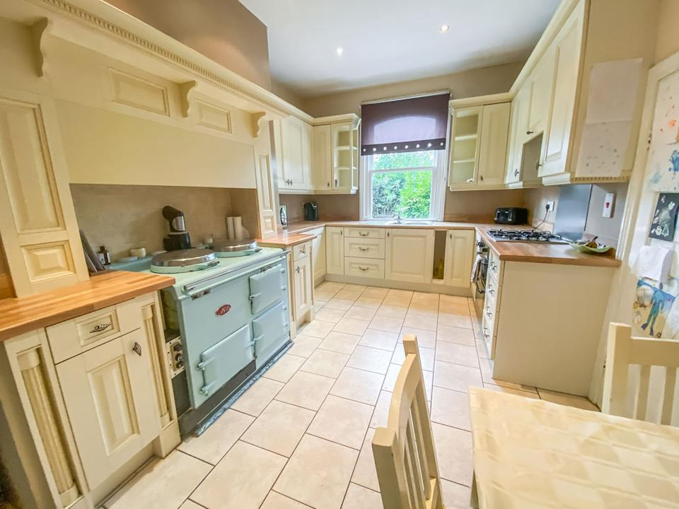 The kitchen is said to include a walk-in pantry. Photo: Pattinson Estate Agents