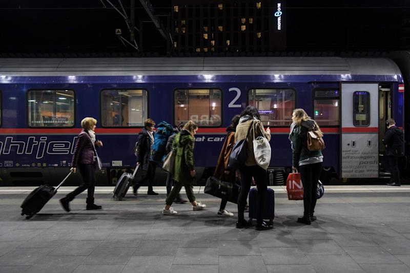 Austria's state railway OBB runs many sleeper trains around the continent: AFP via Getty Images