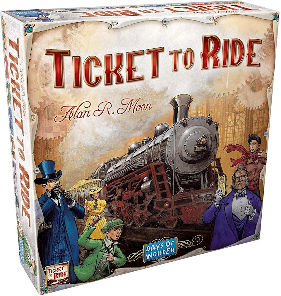ticket to ride board game, 2 person board games