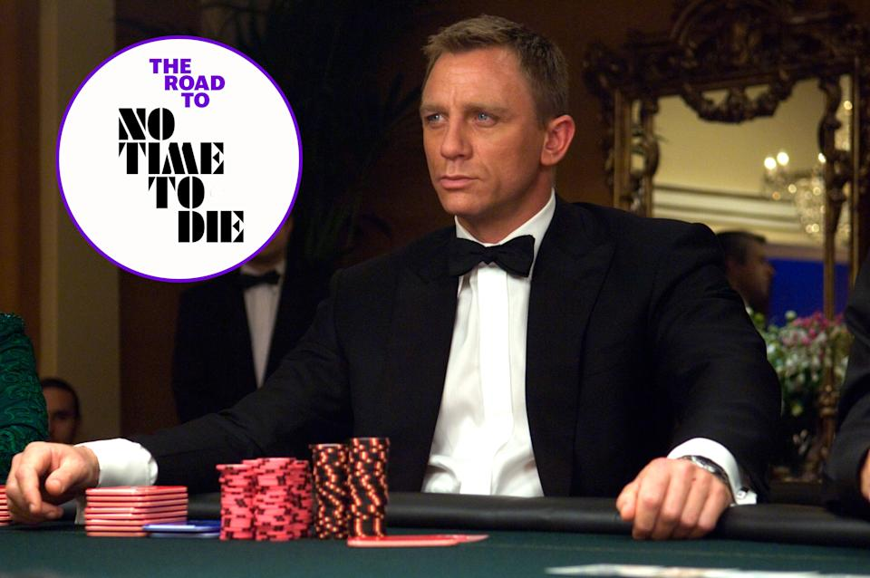Daniel Craig made his debut as Ian Fleming's James Bond 007 in 2006's Casino Royale (EON/MGM/Sony Pictures)