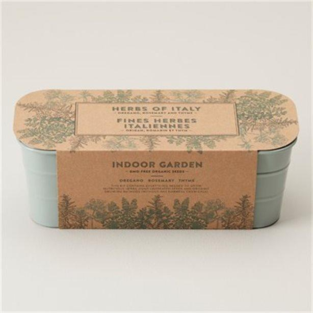 Herbs of Italy Indoor Garden Grow Kit