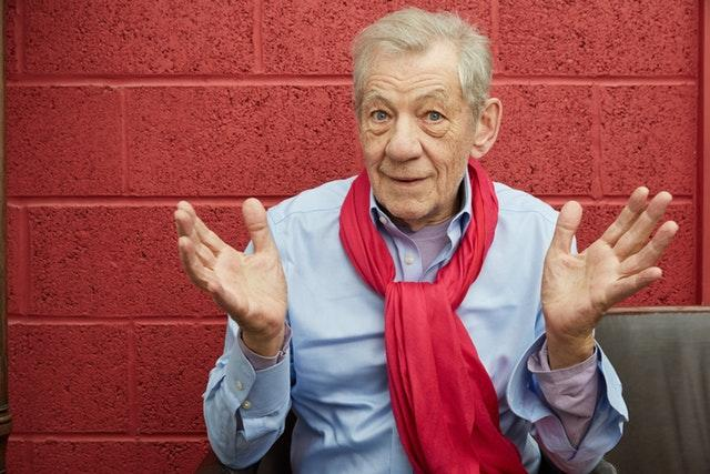 Sir Ian McKellen at London's Park Theatre