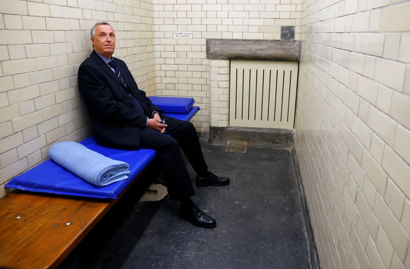 New museum invites visitors into the cells of London's original police station