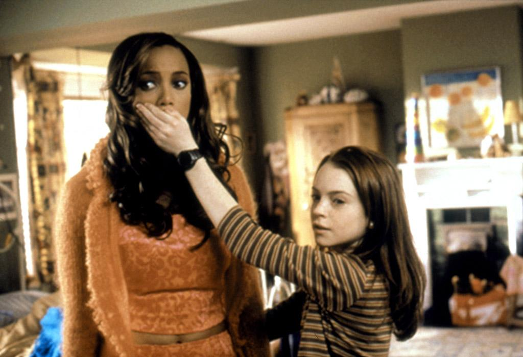 HIGH: 'Life-Size' With Tyra Banks (2000) In this this memorable Disney TV movie from 2000, Lindsay stole the show with her portrayal of a 13-year-old girl named Casey whose Barbie-like doll comes to life in the form of Tyra Banks after she tries to resurrect her dead mother.