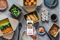 """<p>Ordering takeout from your favorite restaurant can make any day an extra special occasion, and some of your favorite places are probably offering <a href=""""https://www.delish.com/food-news/a34097912/applebees-halloween-cocktails-2020/"""" rel=""""nofollow noopener"""" target=""""_blank"""" data-ylk=""""slk:killer Halloween food deals"""" class=""""link rapid-noclick-resp"""">killer Halloween food deals</a>.</p><p><a class=""""link rapid-noclick-resp"""" href=""""https://go.redirectingat.com?id=74968X1596630&url=https%3A%2F%2Fwww.doordash.com%2Fen-US&sref=https%3A%2F%2Fwww.delish.com%2Fholiday-recipes%2Fhalloween%2Fg34114713%2Fhow-to-celebrate-halloween-at-home%2F"""" rel=""""nofollow noopener"""" target=""""_blank"""" data-ylk=""""slk:SIGN UP FOR DOORDASH"""">SIGN UP FOR DOORDASH</a></p>"""