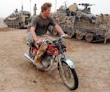 <p>Can we talk about how good Harry looks covered in a layer of dirt? This gem of a photo is from the Prince's time in Afghanistan, and we can probably all agree that Dirty Prince Harry = The Best Prince Harry.</p>