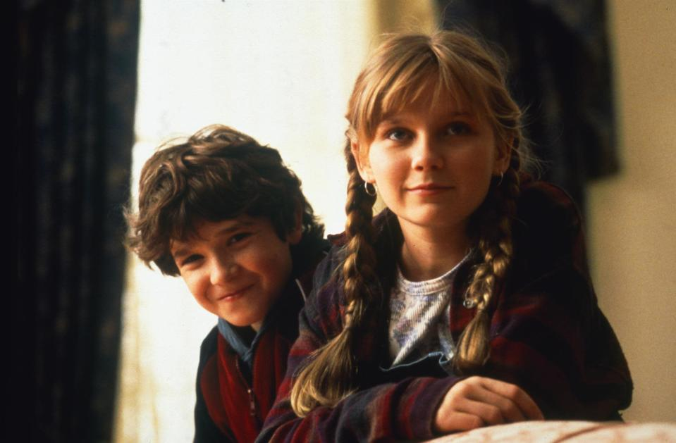 Bradley Pierce and Kirsten Dunst played Peter and Judy (TriStar)
