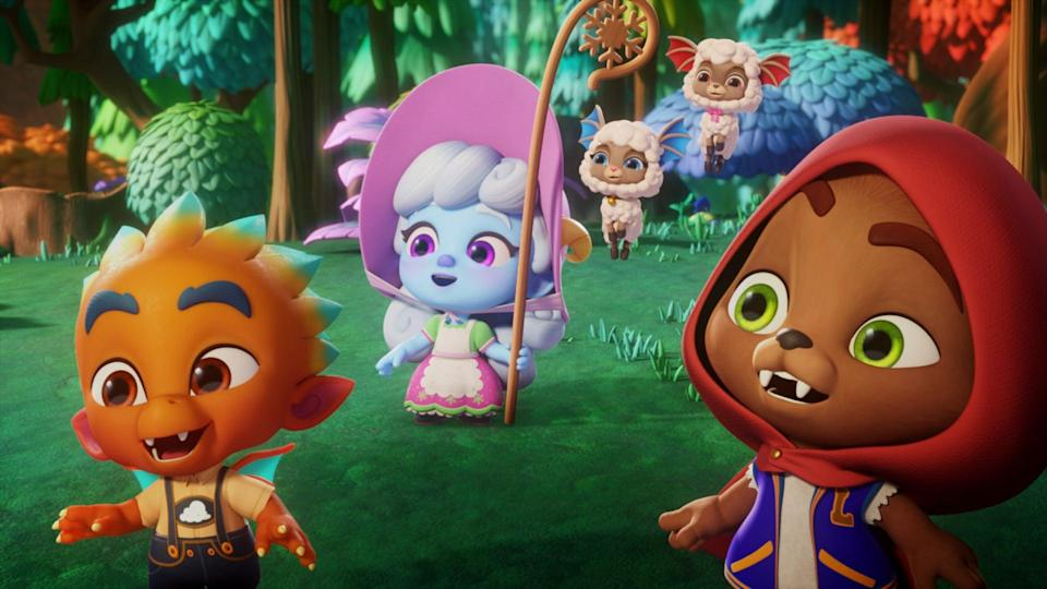 <p>This new <b>Super Monsters</b> special begins streaming on June 1!</p>