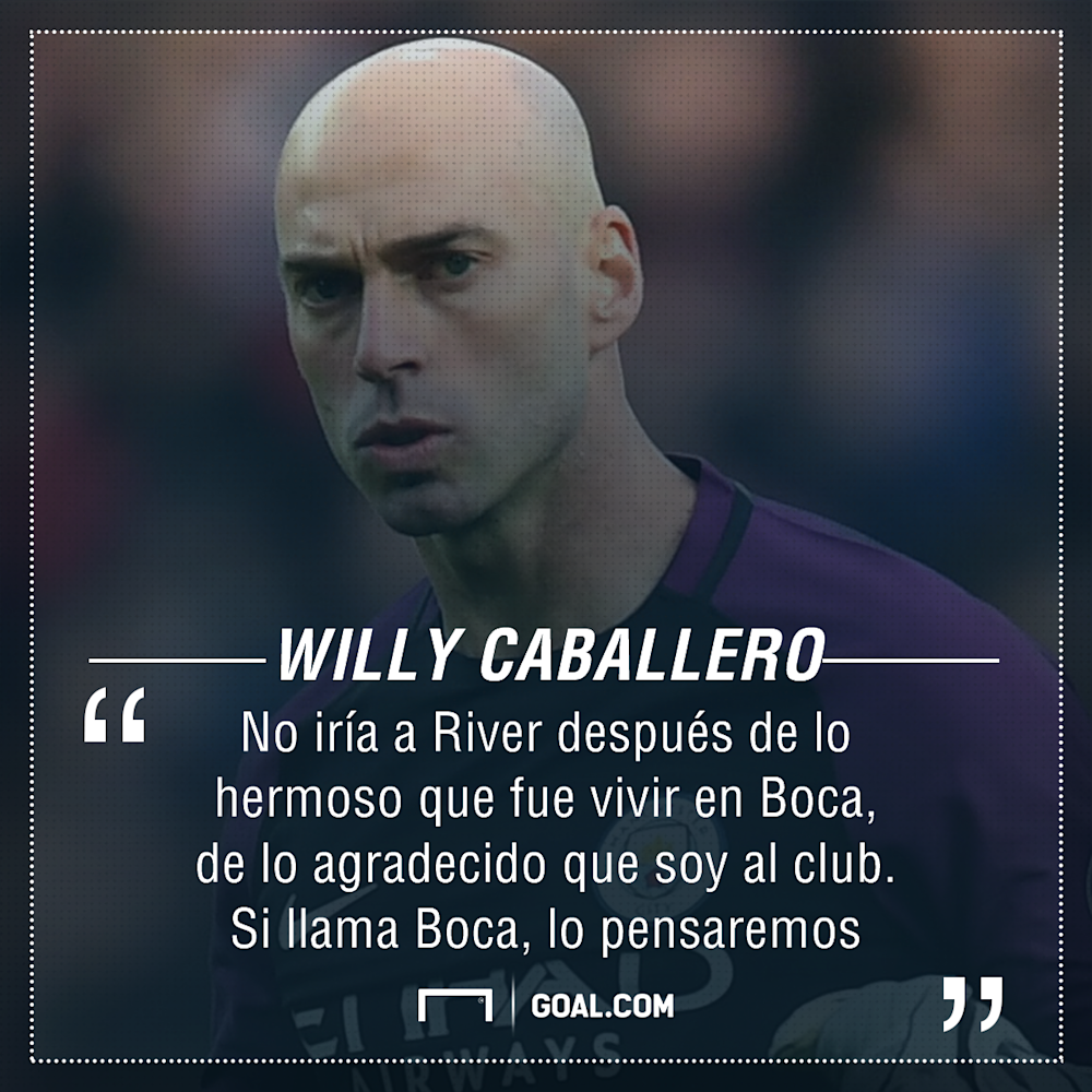 PS Willy Caballero Boca River 06042017