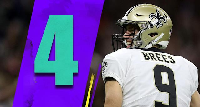 <p>It's always best to find ways to win while you iron out problems. The Saints were not an impressive 3-1, but they were 3-1. And after a complete domination on Monday night, their 4-1 record allows them to move way up in the rankings. (Drew Brees) </p>