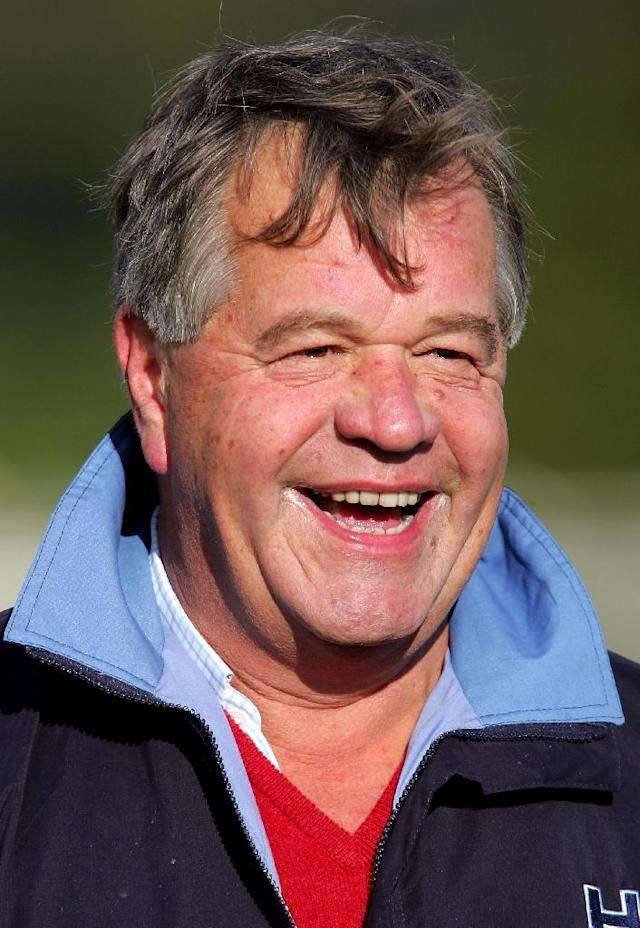 Michael Stoute had good reason to grin after becoming the most successful trainer in Royal Ascot history (AFP Photo/Matthew Stockman)