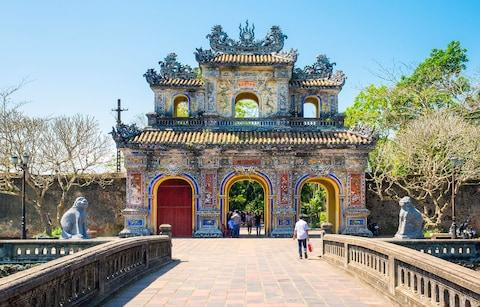 Hien Nhon Gate - Credit: Getty