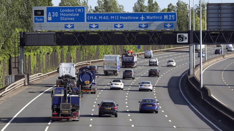 As traffic increases, motorists reminded good lane discipline reduces queues