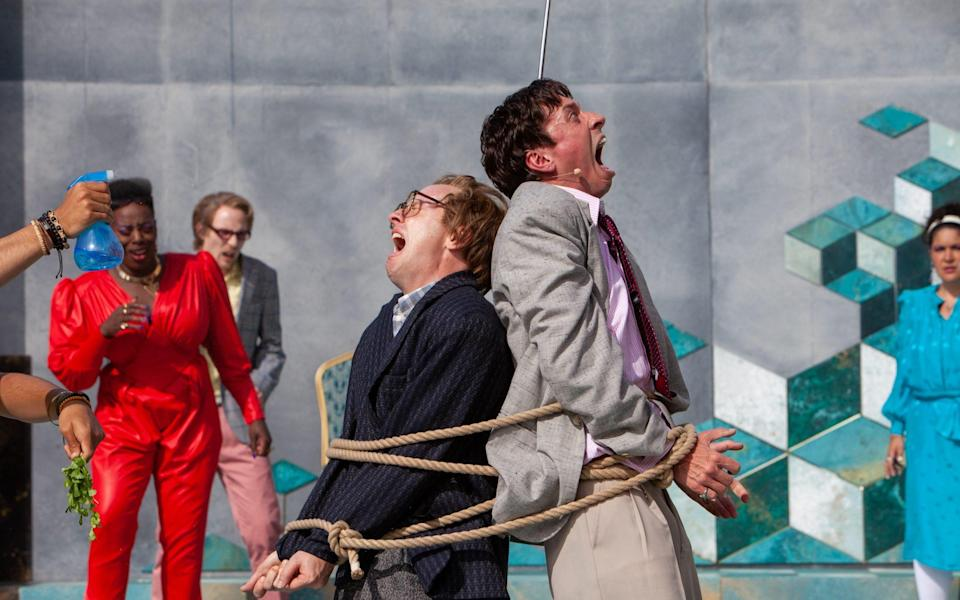 The Comedy of Errors has (finally) arrived to open the RSC's Garden Theatre - Pete Le May