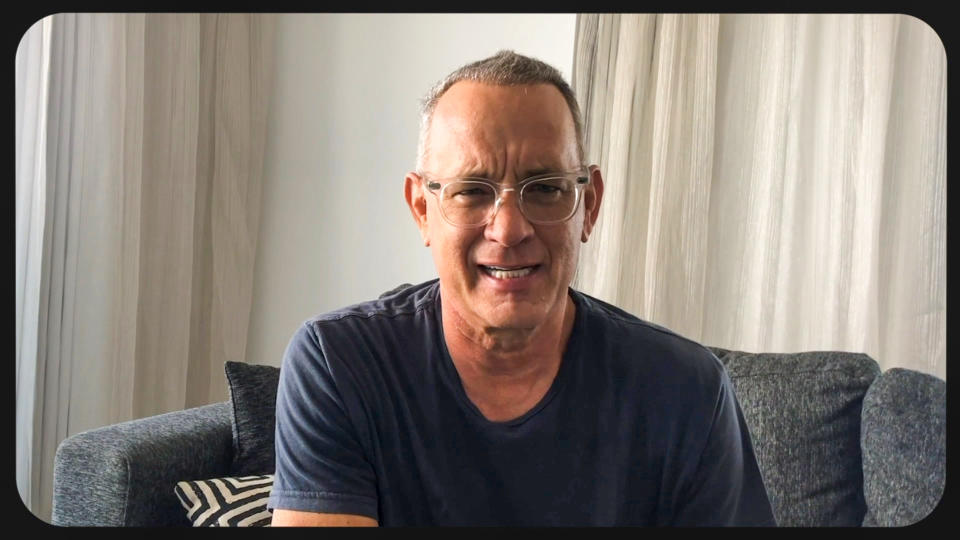 UNSPECIFIED - OCTOBER 10: In this screengrab Tom Hanks appears during the 2020 Carousel of Hope Ball benefiting the Children's Diabetes Foundation on October 10, 2020 in UNSPECIFIED, UNSPECIFIED - Region AMER. (Photo by Getty Images/Getty Images for Children's Diabetes Foundation )