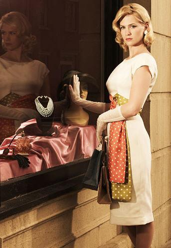 """<div class=""""caption-credit""""> Photo by: AMC</div><b>Betty Francis on """"Mad Men""""</b> <br> The epitome of chic, her feminine dresses and swing coats are often accessorized with glamorous jewelry, coordinating handbags, gloves, and cool shades. Her hair is also always coiffed to perfection. <br> <br> <b>Related links:</b> <br> <a rel=""""nofollow noopener"""" href=""""http://yhoo.it/LJgirl"""" target=""""_blank"""" data-ylk=""""slk:The Most Stylish TV Characters of All Time"""" class=""""link rapid-noclick-resp"""">The Most Stylish TV Characters of All Time</a> <br> <a rel=""""nofollow noopener"""" href=""""http://yhoo.it/IYtqD0"""" target=""""_blank"""" data-ylk=""""slk:VIDEO: Celebrity closet tours: a voyeuristic look inside"""" class=""""link rapid-noclick-resp"""">VIDEO: Celebrity closet tours: a voyeuristic look inside</a> <br> <a rel=""""nofollow noopener"""" href=""""http://yhoo.it/xFqpdl"""" target=""""_blank"""" data-ylk=""""slk:5 Wardrobe Must-Haves Inspired by Style Icons"""" class=""""link rapid-noclick-resp"""">5 Wardrobe Must-Haves Inspired by Style Icons</a> <br> <br> <br> 1-0 of null <a rel=""""nofollow"""" href=""""http://shine.yahoo.com/fashion/5-wardrobe-must-haves-inspired-style-icons-182600024.html#prev"""" data-ylk=""""slk:prev;outcm:mb_qualified_link;_E:mb_qualified_link;ct:story;"""" class=""""link rapid-noclick-resp yahoo-link"""">prev</a> <a rel=""""nofollow"""" href=""""http://shine.yahoo.com/fashion/5-wardrobe-must-haves-inspired-style-icons-182600024.html#next"""" data-ylk=""""slk:next;outcm:mb_qualified_link;_E:mb_qualified_link;ct:story;"""" class=""""link rapid-noclick-resp yahoo-link"""">next</a> <br>"""