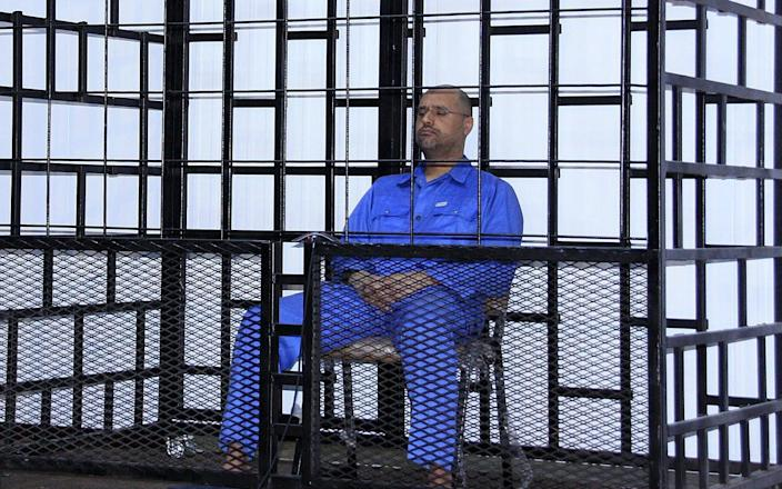 """Muammar Gaddafi's son """"returned from the dead"""" and plans a political return"""