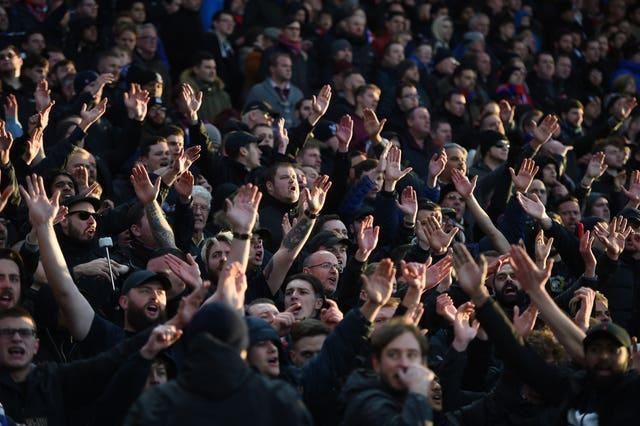Sports venues in England are set to return to full capacity from July 19 (Daniel Hambury/PA).