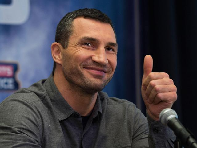 Wladimir Klitschko has finally ramped up the mind games with Anthony Joshua: Getty